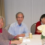 Image of Senior Dance Party Holiday friends at B'nai B'rith's Covenant House Communities in 2012.