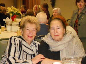 Image of Celebrating relationships at the Senior Holiday Dance Party at B'nai B'rith's Covenant House Communities in 2012.