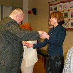 Image from Holiday dance at B'nai B'rith's Covenant House' 2012 party.