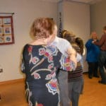 Picture of Residents dancing at B'nai B'rith's Covenant House Communities 2012 Holiday party.