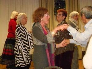 Seniors at B'nai B'rith's Covenant House Communities celebrating at a 2012 party.