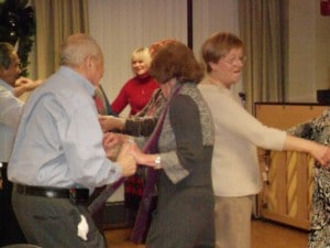 Image of Senior Dance Party Holiday rhythms from B'nai B'rith's Covenant House Communities in 2012.