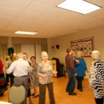 Image of Senior Dance Party Holiday room of memories from B'nai B'rith's Covenant House Communities in 2012.