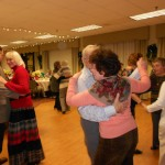 Image of Senior Holiday Dance Party at B'nai B'rith's Covenant House Communities in 2012.