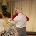 Image of More holiday party dancing at B'nai B'rith's Covenant House Communities in 2012.