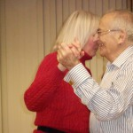 Image of Holiday party dance at B'nai B'rith's Covenant House Communities in 2012.