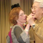 Image of Holiday party dancing memories at B'nai B'rith's Covenant House Communities in 2012.