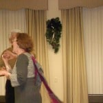 Image of 2012 Holiday party dancing memories at B'nai B'rith's Covenant House Communities.