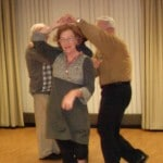 Image of 2012 Holiday party dancing at B'nai B'rith's Covenant House Communities.