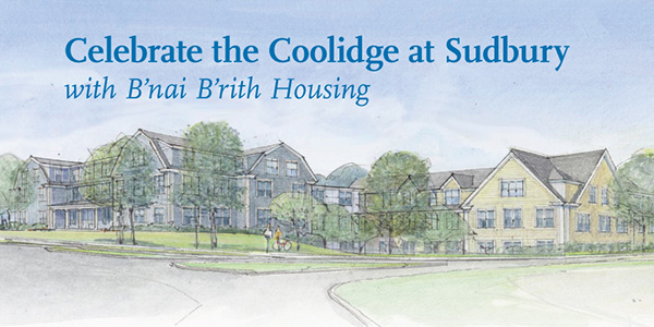 Cover of The Coolidge at Sudbury B'nai B'rith Ground Breaking Celebration