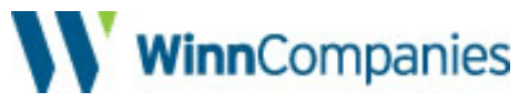 Graphical logo of the WinnCompanies, a sponsor of B'nai B'rith Housing.