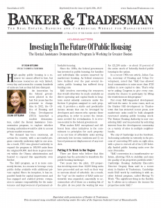 Investing In The Future Of Public Housing