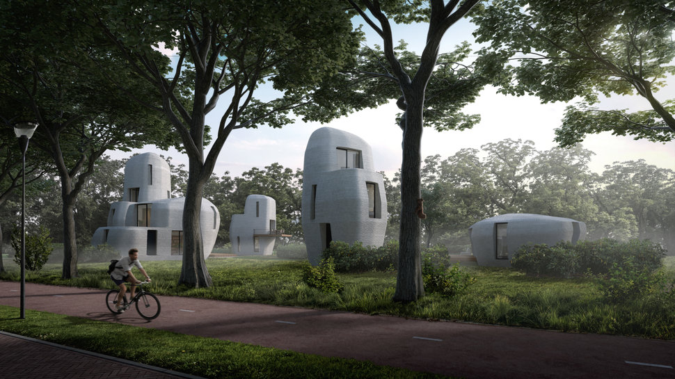 The Netherlands Plans To Build World's First Habitable 3D-Printed Concrete Homes