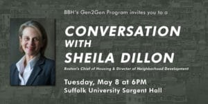 Gen2Gen Event: Conversation with Sheila Dillon