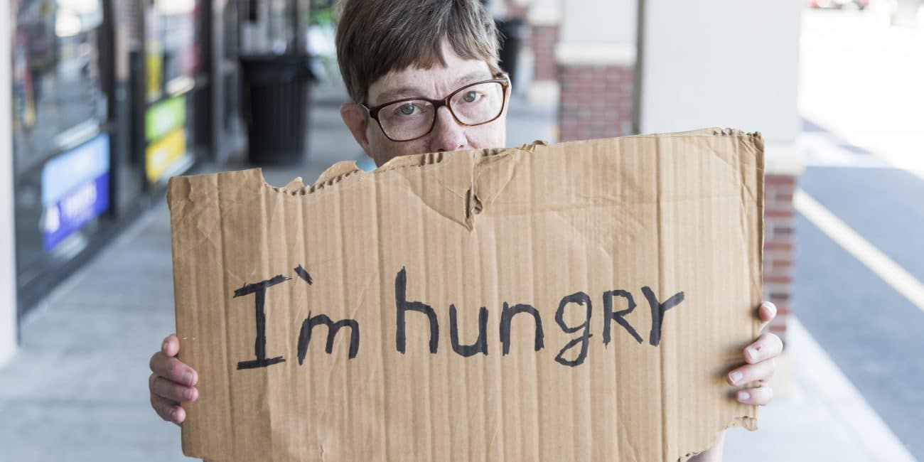 Hunger Series: An unfortunate dilemma — buy food or pay rent?