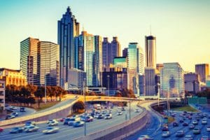 Executive Director, Susan Gittelman, Visits Atlanta with City to City