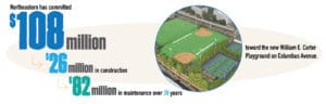 Northeastern to open state-of-the-art community park in Boston