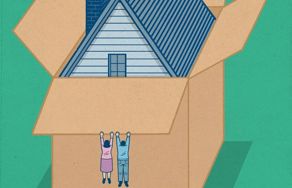 The kids are gone, but their boomer parents can't afford to downsize